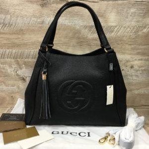 сумка гуччи черная