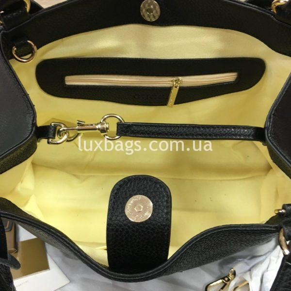 черная женская сумка gucci гуччи на двух сумках фото 4