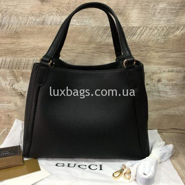 черная женская сумка gucci гуччи на двух сумках фото 2