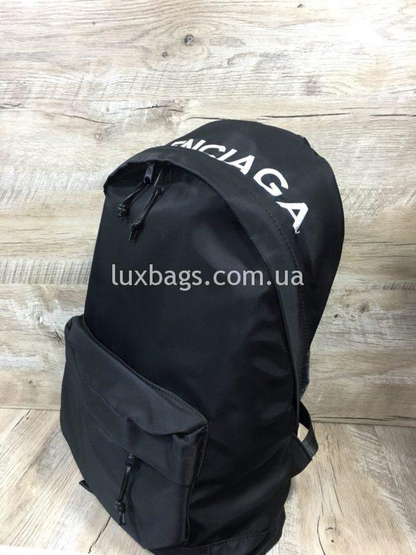 черный рюкзак BALENCIAGA баленсиага спортивного стиля фото 10