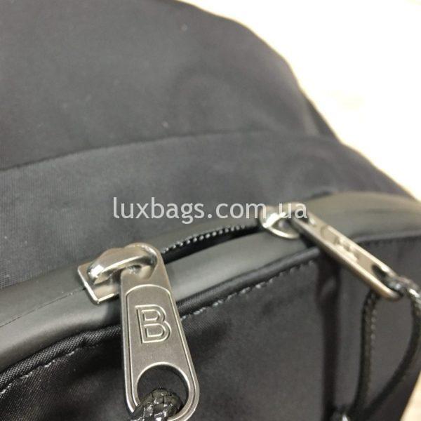 черный рюкзак BALENCIAGA баленсиага спортивного стиля фото 5