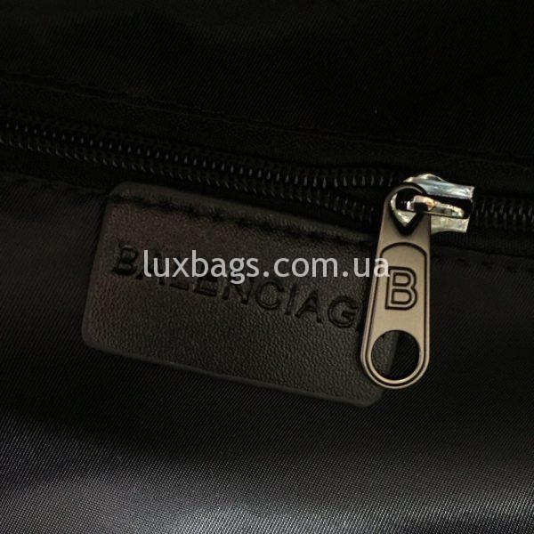 черный рюкзак BALENCIAGA баленсиага спортивного стиля фото 3