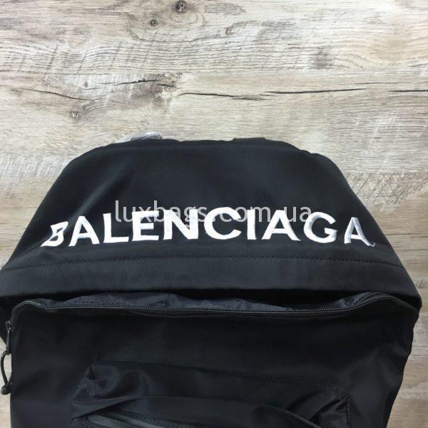 черный рюкзак BALENCIAGA баленсиага спортивного стиля