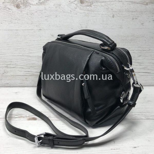 Женская кожаная сумка саквояж Polina&Eiterou фото 4