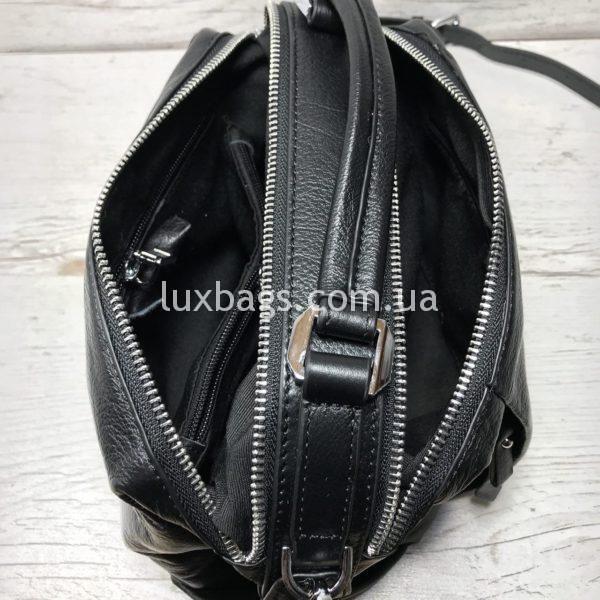 Женская кожаная сумка саквояж Polina&Eiterou фото 2