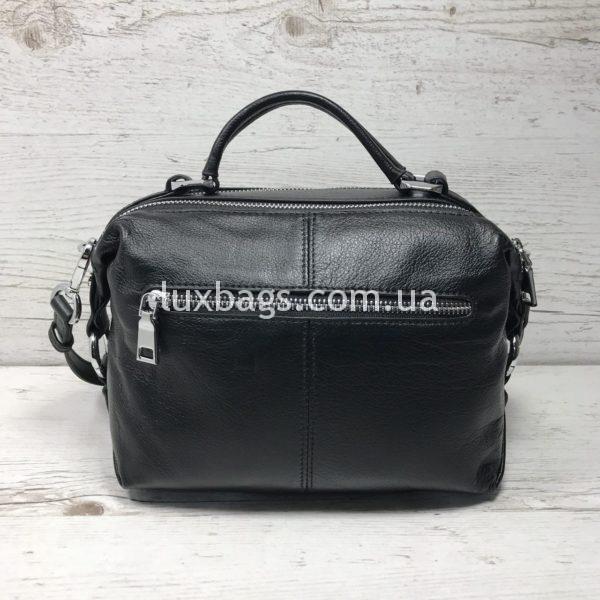 Женская кожаная сумка саквояж Polina&Eiterou фото 1