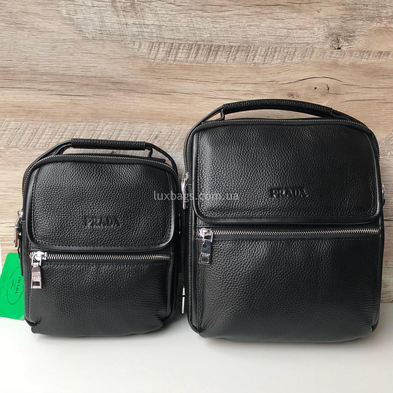 3fa4d00b7d15 Мужская барсетка-сумка Prada Купить на lux-bags Недорого