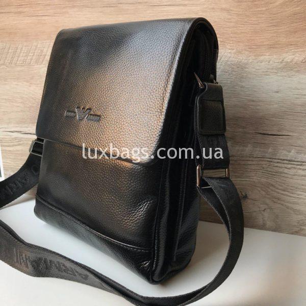 сумка мужская армани через плечо с клапаном фото 7