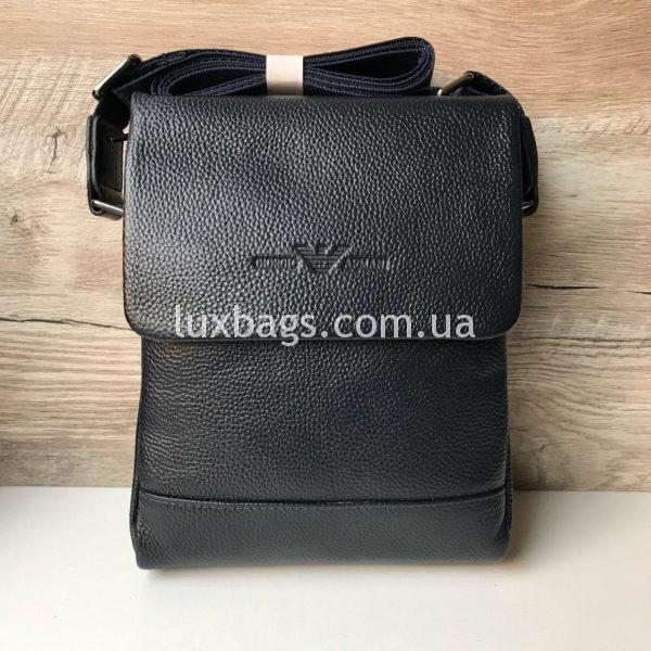 сумка мужская армани через плечо с клапаном фото
