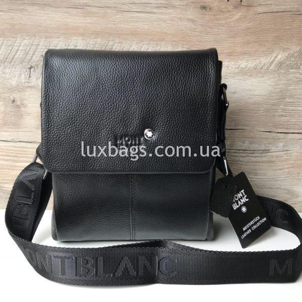 Мужская сумка Mont Blanc с клапаном фото 3