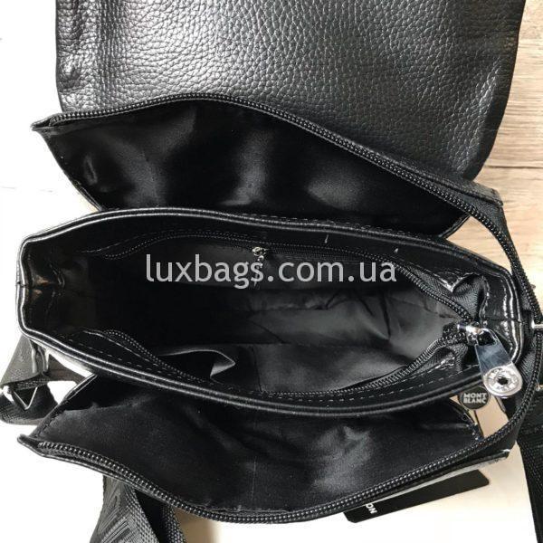 Мужская сумка Mont Blanc брендовая сумка