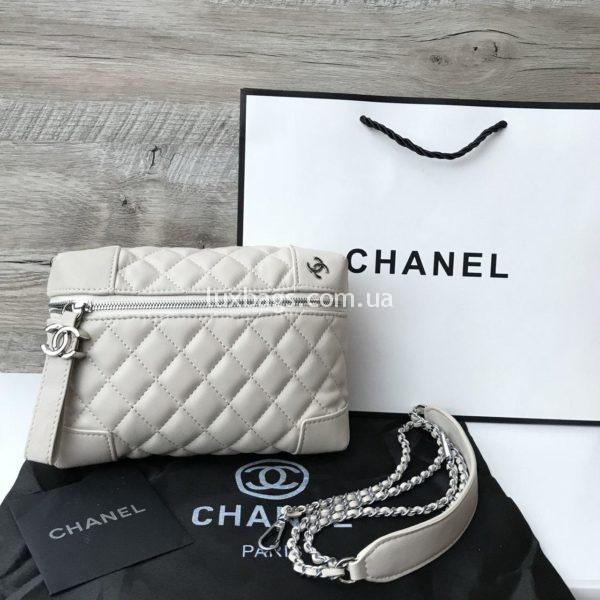 Сумочка Chanel Шанель копия белая