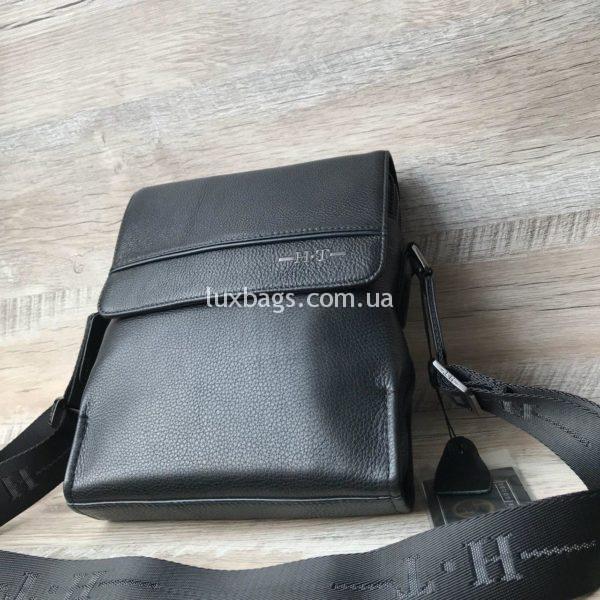 Мужская кожаная сумка через плечо H.T leather купить