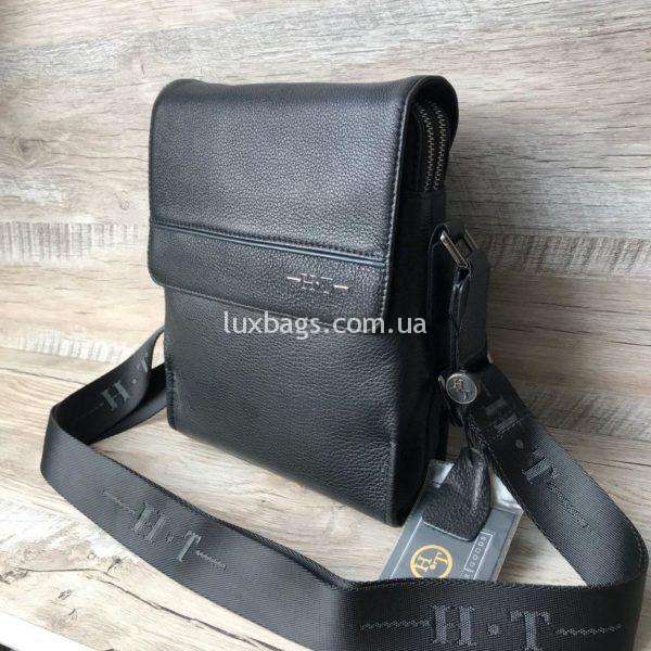 Мужская кожаная сумка через плечо недорогая