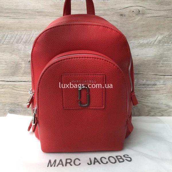 красный рюкзак Marc Jacobs