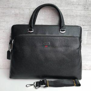 Кожаный портфель Gucci формата А4