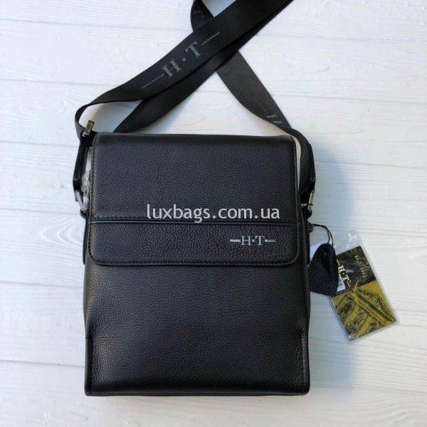 Мужская кожаная сумка через плечо H.T leather