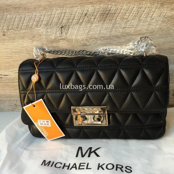 Женская небольшая сумка Michael Kors черная