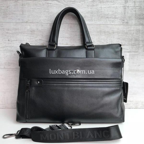 Кожаный портфель Mont Blanc копия купить