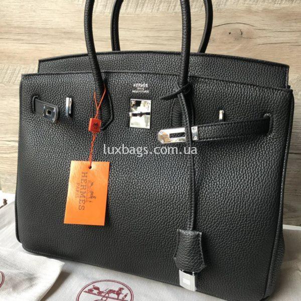 Женская сумка Неrmеs Вirkin Гeрмec Биркин черная фото