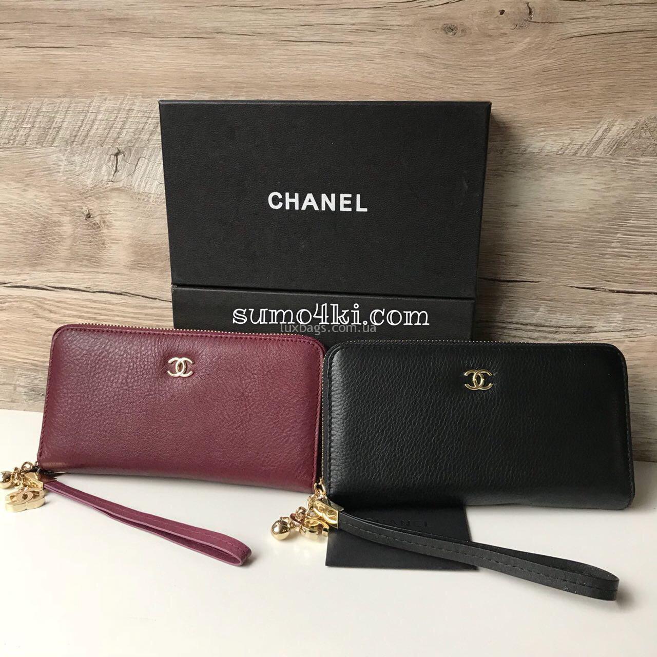 9c09aaeb187d Купить Кошелек CHANEL из натуральной кожи (копия) | lux-bags