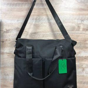 Большая сумка Prada Прада черная женская фото