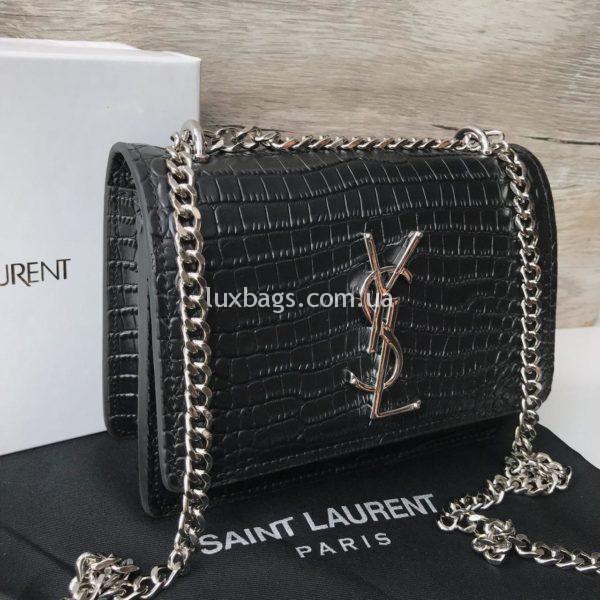 Женская маленькая Сумка Yves Saint Lauren с цепочкой