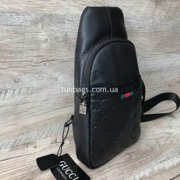 Мужская сумка бананка слинг Gucci Гуччи в интернет магазине