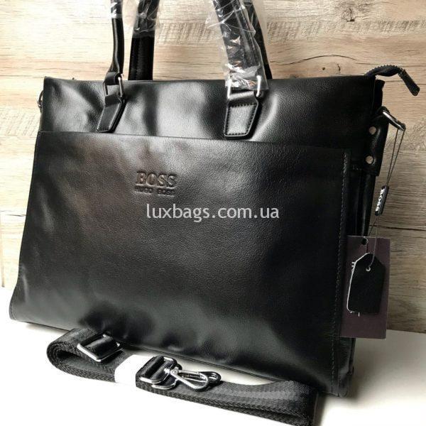 Кожаный портфель Hugo Boss