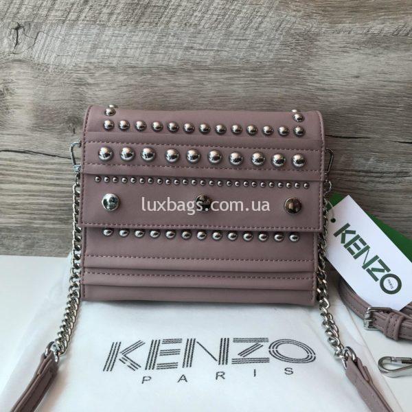 Женская сумочка Kenzo розовая
