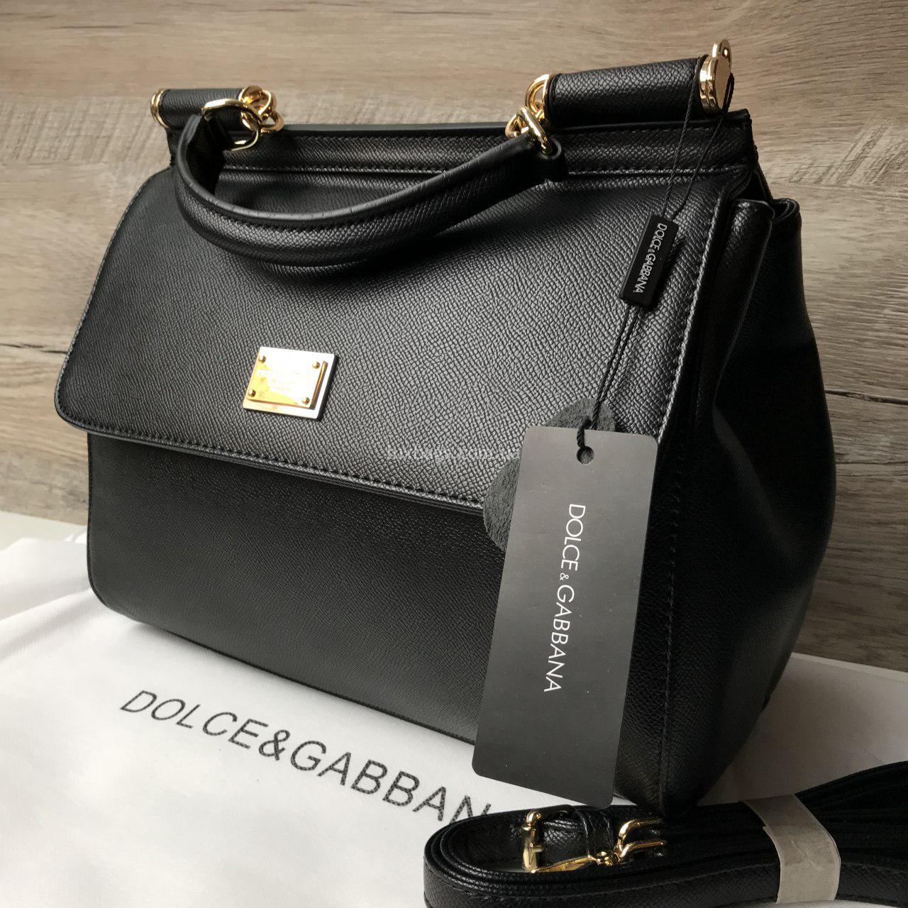 b4f52b01e753 Женская сумка Dolce & Gabbana Miss Sicily mini D&G | lux-bags