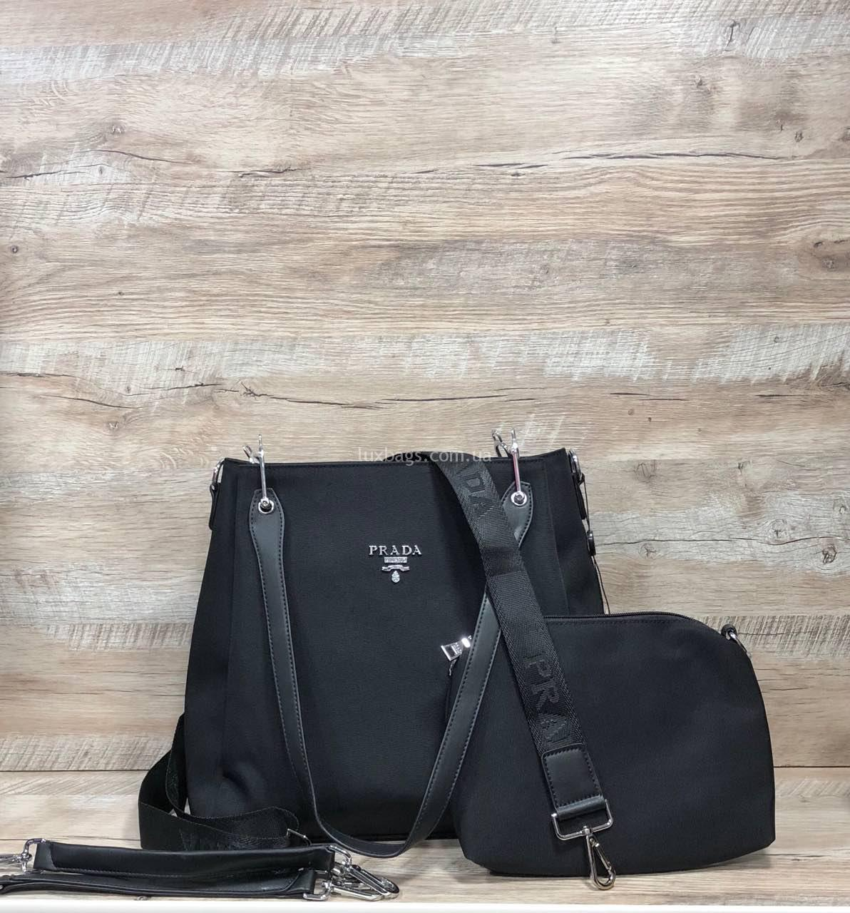 Купить Женская сумка из плащевка Prada Прада   lux-bags 1e8fd7ebaee