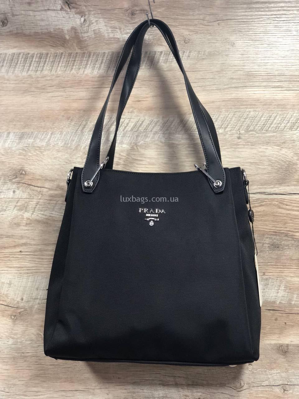 53d83cf83 Женская сумка из плащевка Prada Прада Купить на lux-bags