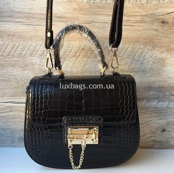 Женская черная сумка Dolce Gabbana