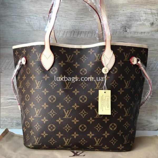 Женская сумка Louis Vuitton neverfull фото