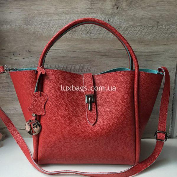 Женская красная сумка Furla Фурла