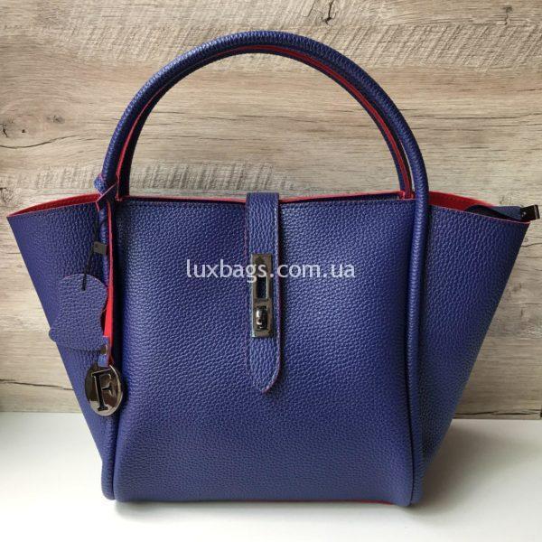 Женская синяя сумка Furla Фурла