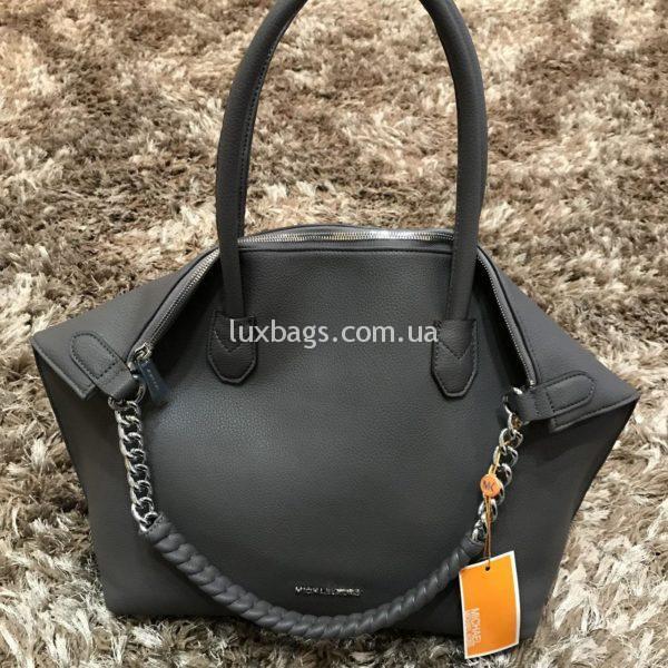 Женская сумка серая от майкл корс