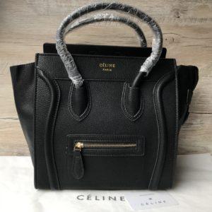 Женская сумка Celine Рhantom Luggage черная