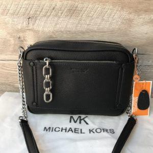 Женская маленькая сумка Michael Kors черная