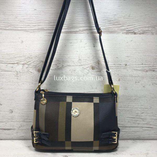 Женская сумка в спортивном стиле через плечо