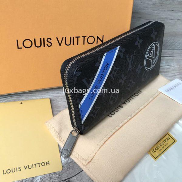 Кошелёк Louis Vuitton черный канва