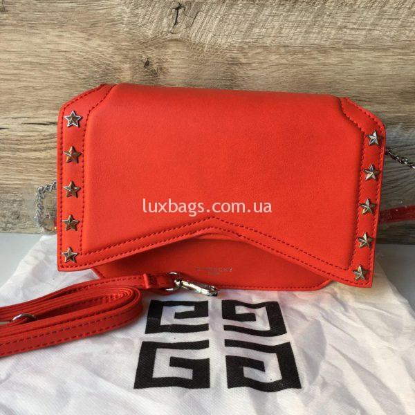Женская модная сумка Givenchy красная