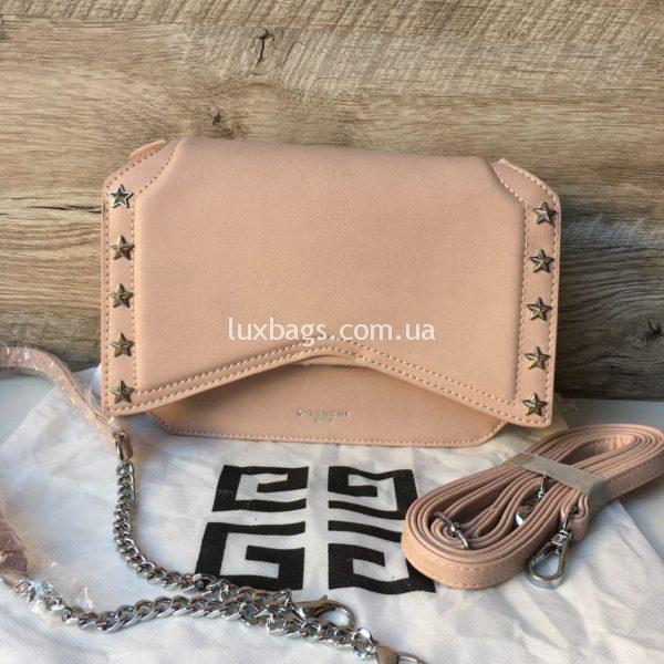Женская модная сумка Givenchy розовая