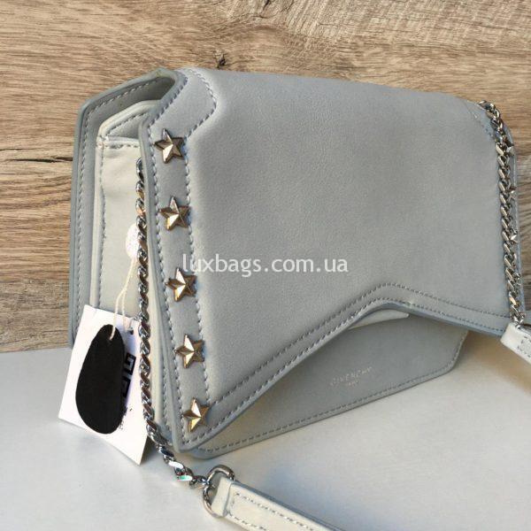 Женская модная сумка Givenchy голубая