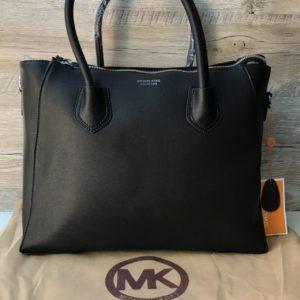 Большая женская сумка Michael Kors черная фото