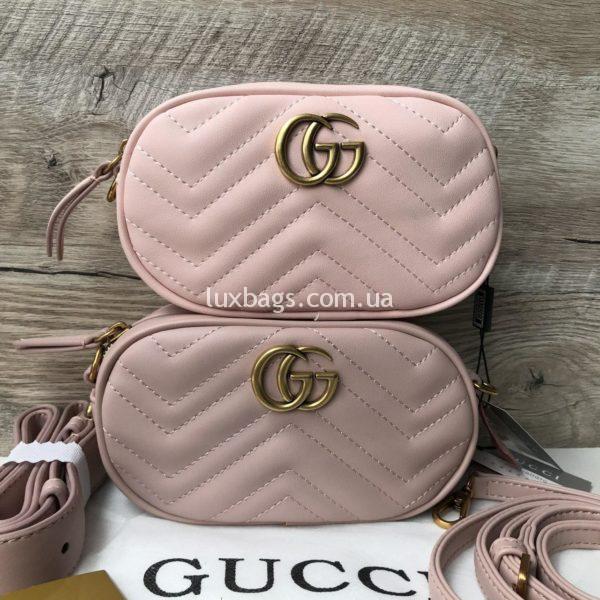 сумки гуччи поясные мармонт недорого