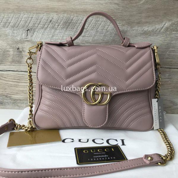 сумка кроссбоди розовая гуччи недорого