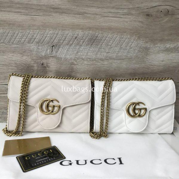Женская сумка-клатч Gucci Гуччи недорого