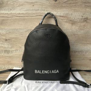Женский стильный рюкзак баленсиага черный